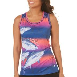 Reel Legends Womens Keep It Cool Finn Sleeveless Top
