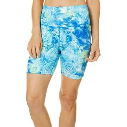 Reel Legends Womens Keep It Cool Textured Paisley Shorts