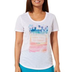 Reel Legends Womens Take Time To Coast T-Shirt