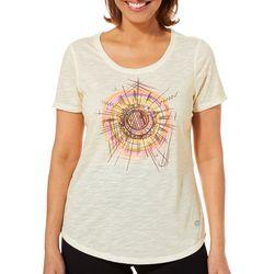Reel Legends Womens Sketched Sun T-Shirt