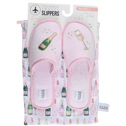HANG ACCESSORIES Womens Champagne Slippers