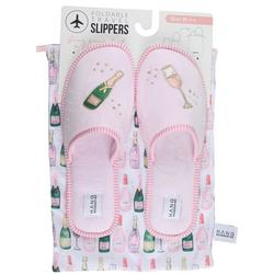 Womens Champagne Slippers