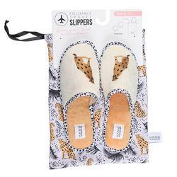 HANG ACCESSORIES Womens Cheetah Slippers