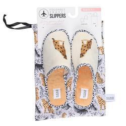 Womens Cheetah Slippers