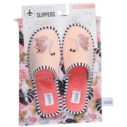 HANG ACCESSORIES Womens Flamingo Slippers