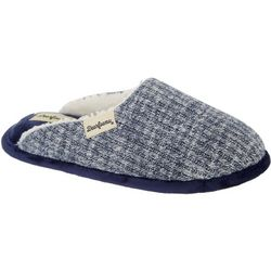 Dearfoams Womens Bailey Rib Knit Clog Slippers