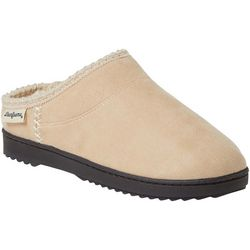 Dearfoams Womens Suede Clog Slippers