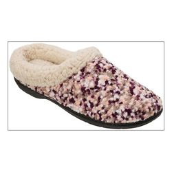 Dearfoams Womens Popcorn Clog Slippers