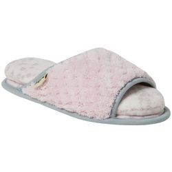Dearfoams Womens Cloud Step Comfort Slide Slippers