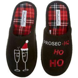 Olivia Miller Womens Prosec-Ho Santa Slippers