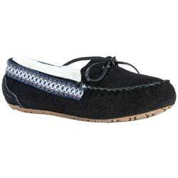 Womens Blake Suede Moccasin Slippers