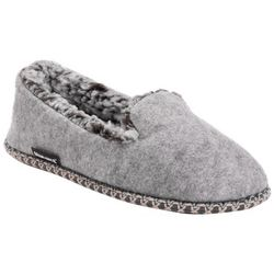 Womens Chiara Felt Moccasin Slippers