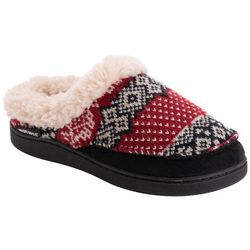 Muk Luks Womens Printed Clog Slippers