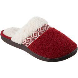 Isotoner Womens Nina Berber Clog Slippers
