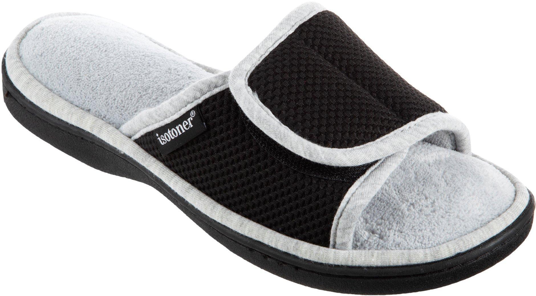 Kids Shoes Fur Slides Bedroom Flats Slippers Sport Sandals Pink Black Gray