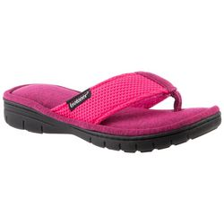 Isotoner Womens 360 Sport Thong Slippers