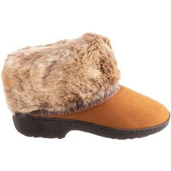 Isotoner Womens Basil Bootie Slippers