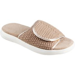 Isotoner Womens Zenz Sports Knit Slides