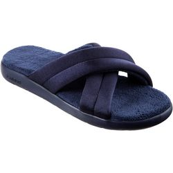 Isotoner Womens Zenz Satin Slides