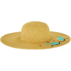 Riviera Womens Dolphin Straw Hat