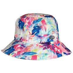 Womens Tropical Brim Bucket Hat