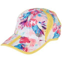 Reel Legends Womens Vibrant Floral Printed Mesh Cap