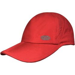 Womens Solid Foldable Vented Hat