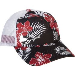 Reel Legends Womens Tropical Trucker Hat