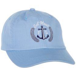 Paramount Apparel Get Nauti Anchor Embroidered Cap
