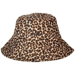 Steve Madden Womens UPF Cheetah Bucket Hat