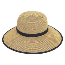 Sun N' Sand Womens French Laundry Paper Braid Sun Hat