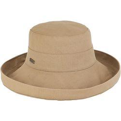 Sun N' Sand Solid Upbrim Hat