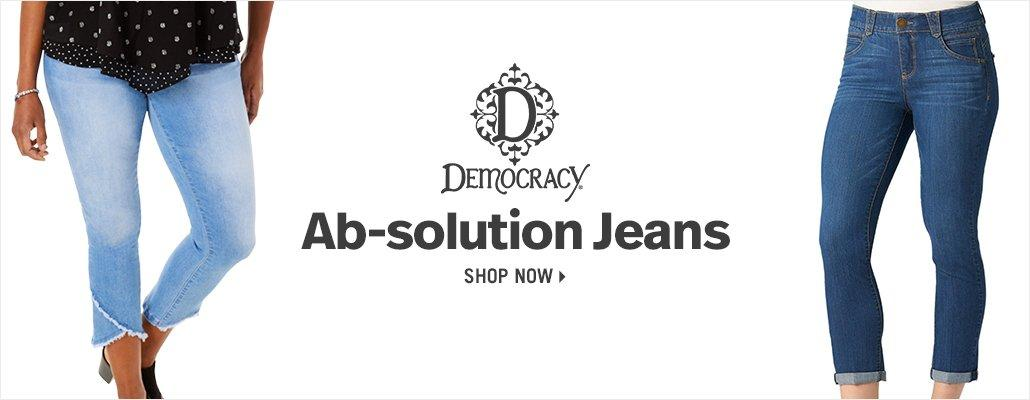 Democracy Ab-solution Jeans - Shop Now