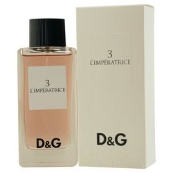 Dolce & Gabbana 3 L'Imperatrice Womens EDT Spray 3.3 oz.