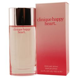 Clinique Happy Heart Womens Parfum Spray 3.4 oz.