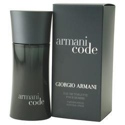 Armani Code Mens Eau De Toilette Spray 4.2 oz.