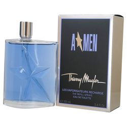 Angel Mens Eau De Toilette Refill Spray 3.4 oz.