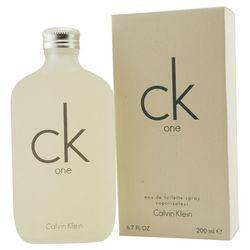 CK One Unisex Eau De Toilette Spray 6.7 oz.