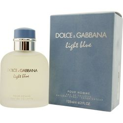 Dolce & Gabbana Mens Light Blue Edt Spray 4.2 Oz