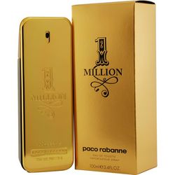 Paco Rabanne Mens 1 Million Edt Spray 3.4 Oz