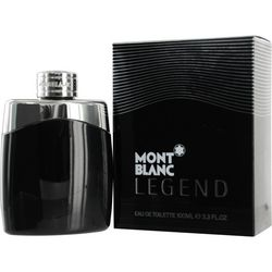 Mont Blanc Mens Legend Edt Spray 3.4 Oz