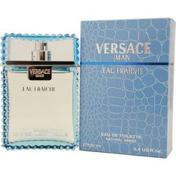 Gianni Versace Mens Eau Fraiche Edt Spray 3.3 Oz
