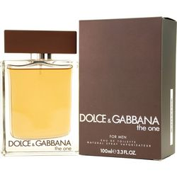 Dolce & Gabbana Mens The One Edt Spray 3.3 Oz