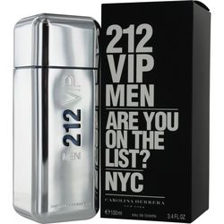 Carolina Herrera Mens 212 Vip Edt Spray 3.4 Oz