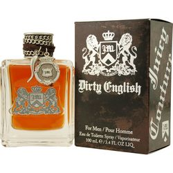 Juicy Couture Mens Dirty English Edt Spray 3.4 Oz