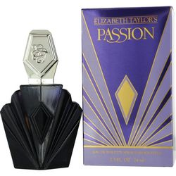Elizabeth Taylor Womens Passion Edt Spray 2.5 Oz