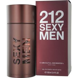 Carolina Herrera Mens 212 Sexy Edt Spray 3.4 Oz