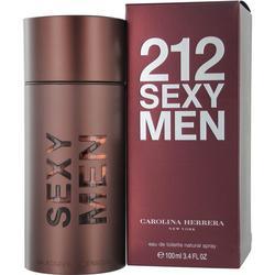 Mens 212 Sexy Edt Spray 3.4 Oz