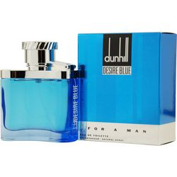 Alfred Dunhill Mens Desire Blue Edt Spray 3.4 Oz