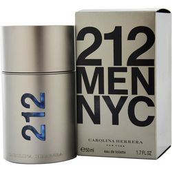 Carolina Herrera Mens 212 EDT Spray 1.7 oz.